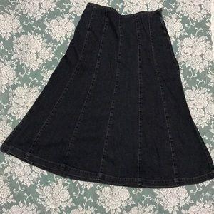 Sonoma jean skirt
